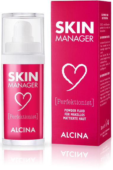 alcina skin manager skin manager perfektionist